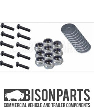 +TRUCK & TRAILER MUDGUARD / MUDWING M8 MOUNTING KIT (BOLT 20MM) (10) BP83-247KIT