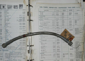Beck Fuel Line GB14. Rootes # P54868.  Hillman Minx and Humber.    III
