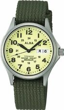 Seiko Alba Military Apbt209 New /C1