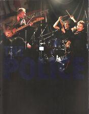 THE POLICE / STING 2007 REUNION TOUR CONCERT PROGRAM BOOK / NEAR MINT 2 MINT