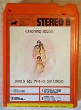 STEREO 8 Banco del Mutuo Soccorso GAROFANO ROSSO colonna sonora 1976 Ricordi