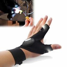 Finger Glove Left with LED Light Flashlight Tools Outdoor Rescue Night Fishing