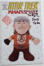 Star Trek  Kahn  Ruling In Hell  #1 CON EXCLUSIVE SDCC Ltd ED 600 SIGNED TIPTON