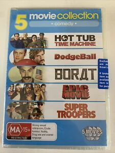 5 Comedy Movie Collection (DVD, Region 4)