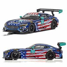 SCALEXTRIC Slot Car C4023 Mercedes AMG GT3 - Riley Motorsports Team