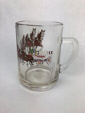 "Budweiser Clydesdale Beer Coffee Mug Anheuser Busch Horses 3.5"" Tall Rare"