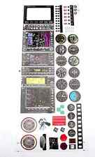 1 Set Cockpit Dashboard Stickers Decorators, RC Plane Helicopter US TH039-02001A