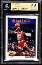 1991-92 NBA HOOPS SLAM DUNK CHAMP #IV MICHAEL JORDAN.  *BGS GRADED GEM MINT 9.5.