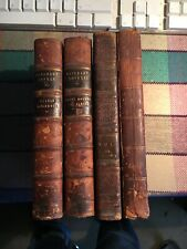 4 Walter Scott Volumes, 1818-1839, Monastery, Antiquary etc