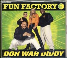 FUN FACTORY - doh wah diddy  5 trk MAXI CD 1995