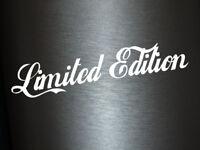 1 x 2 Plott Aufkleber Limited Edition Autoaufkleber Sticker Shocker Fun Tuning