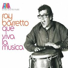 Ray Barretto-A Man and His Music: Que Viva La Musica [Remastered Compilation] CD