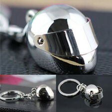 Creative Helmet Car Motorcycle Bicycle Key Chain Keychain Keyring Key Fob Metal