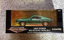 American Muscle 1969 Mustang Mach 1 Green 1:18