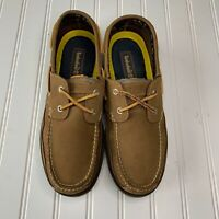Timberland Earth Keepers KiaWah Bay Boat Deck Shoes Loafer Brown Size 9