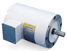 Leeson Electric Motor 113649.00 C6T17VC5H 1/4 HP 1725 Rpm 3-PH 208-230/460 volt