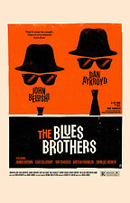 Incorniciato Retrò Movie Print -- il Blues Brothers (foto poster arte cinematografica Blu-Ray)