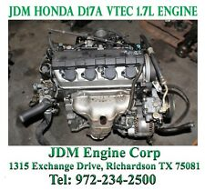 2003 Honda Civic Engine Jdm D17a Sohc Vtec 1 7l D17a1 D17a2
