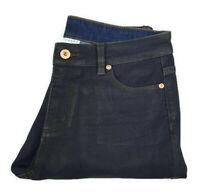 WITCHERY Womens Indigo Raw Coated Skinny Denim Jeans - Size 10 RRP- $129.95
