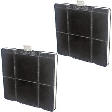 2 x Square Carbon Filters for SIEMENS Cooker Hood / Extractor Fan Vent