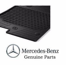 Genuine OEM Mercedes Benz SLK Class R172 Black All Season Floor Mats