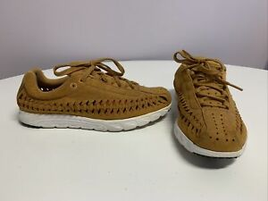 Nike Mayfly Woven Brown Suede Trainers Sneakers. Ladies Size UK 5.5
