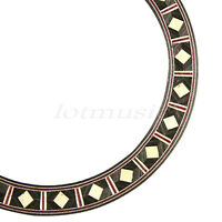 Wood Rosette Inlay Acoustic Classical Guitar Rosette Sound Hole 1Pcs