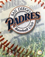 San Diego Padres 8x10 Color Logo Photo