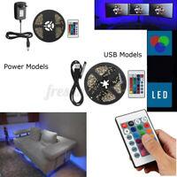 Gaming Computer Desk LED Light Kit Office Home Lighting Remote Control 12 V *