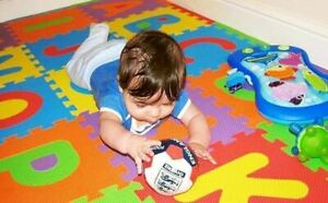 40pc Soft Foam Floor Tiles Interlocking Kids Alphabet & Number Puzzle Play Mat