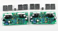 DIY kit L20 SE Stereo Audio power amplifier board Kit AMP A1943 C5200 200W 8R