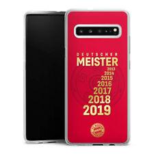 Samsung Galaxy S10 5G Silikon Hülle Case Handyhülle - 7X MEISTER - FCB