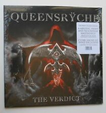 Queensryche Autographed The Verdict Limited Edition 700 Clear Smoke Vinyl