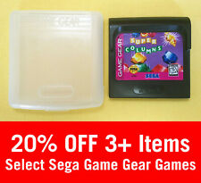 Super Columns (Sega Game Gear, 1995) - Cart & Case - Cleaned & Tested, Authentic