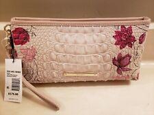 Brahmin Kayla Lotus Bloomsbury Wristlet Clutch Wallet Pouch P29 1401 00468