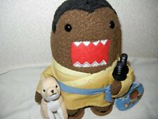 SAMURAI Kimono Domo Kun w/ Dog Katana Sword Plush Toy Original Licensed NHK Tag