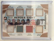 2016-17 Heroes & Prospects Belfour Richter Hasek Patch Jersey /35 Heroes Eight