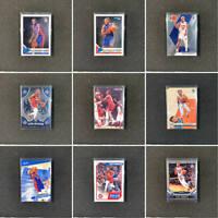 2019-20 SEKOU DOUMBOUYA Rookie RC NBA Basketball Cards (9 Card Lot)