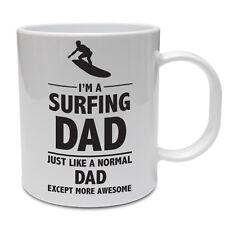 Sono un SURF DAD più impressionante-Padre's Giorno / Surf / divertente tema TAZZA IN CERAMICA