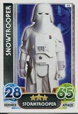 Star Wars Force Attax : Force Awakens Set 1 #48 Snowtrooper