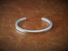 """Homme Solide Argent 925 Lourd Carré """"VINTAGE Matt Look"""" couple, bracelet, bracelet"""