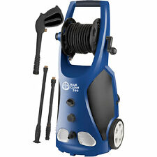 AR Blue Clean 1800 PSI (Electric-Cold Water) Pressure Washer With Hose Reel &...