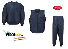 Thermo Unterzieh Jacke mit Nierenschutz Hose oder Weste Kälteschutz