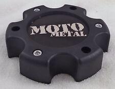 Moto Metal Wheels Flat Black Custom Wheel Center Cap Caps # 845L140-2 / S608-19