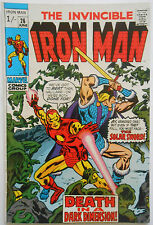 IRON MAN #26 - JUN 1970 - THE COLLECTOR APPEARANCE! - FN/VFN (7.0)