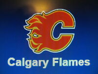 50 CALGARY FLAMES CARDS  (LOT)