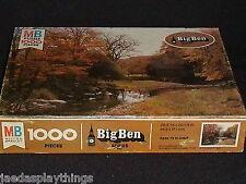 Big Ben Puzzle COVERED BRIDGE Autumn Fall 1000 Pcs Vtg SEALED