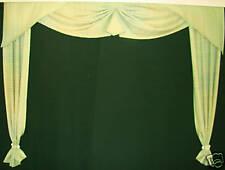 grünes Deko Fenster m. Zipfelbogen ca.1,45 Breite