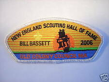 OLD COLONY COUNCIL, BILL BASSETT N.E. HALL OF FAME SET