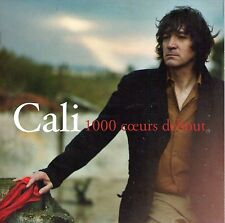 CD CARTONNE COLLECTOR CALI 1000 COEURS DEBOUT 2T  DE 2008 RARE !!!